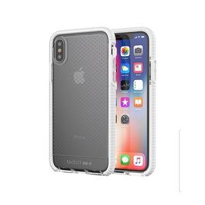Tech21 Evo Check Case iPhone X/XS Clear/White